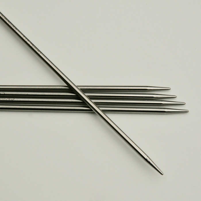 ChiaoGoo Double Pointed Stainless Steel Needles