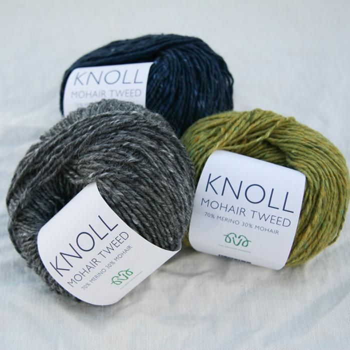 Knoll mohair tweed